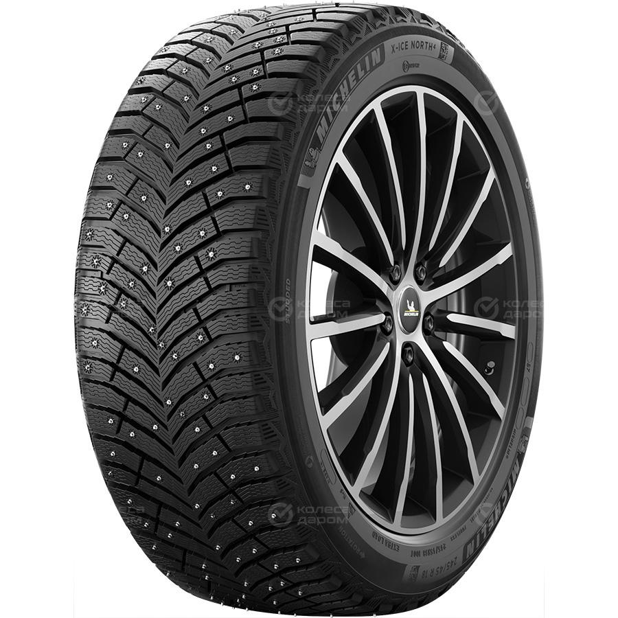 Шина Michelin X-Ice North 4 245/50 R18 104T X-Ice North 4 245/50 R18 104T Шипованные